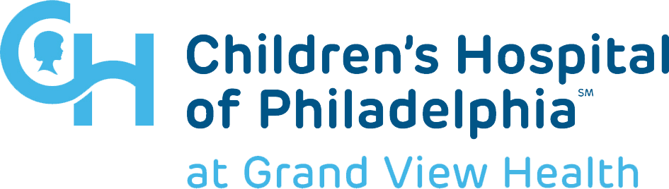 Children's Hospital of Philadelphia at Grand View Health logo.