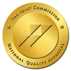 The Joint Commission National Quality Approval badge.