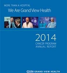 2014 Cancer Program Annual Report cover.