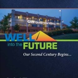 """Well into the Future Our Second Century Begins..."" 2013 Annual Report cover."