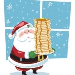 HiRes Pancake Santa