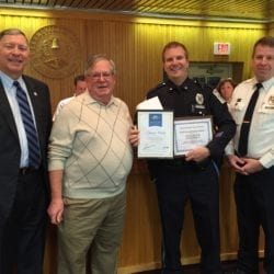 perkasie officer recognition