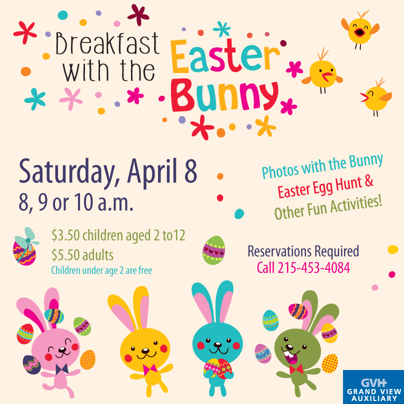 2017 breakfast with the easter bunny for Call the easter bunny phone number